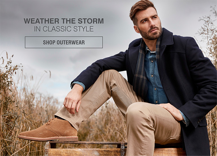 WEATHER THE STORM IN CLASSIC STYLE | SHOP OUTERWEAR