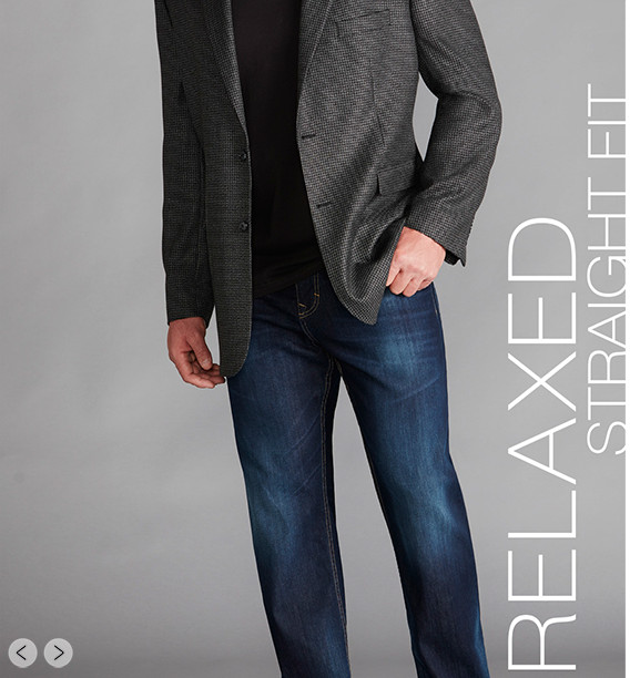 RELAXED STRAIGHT FIT