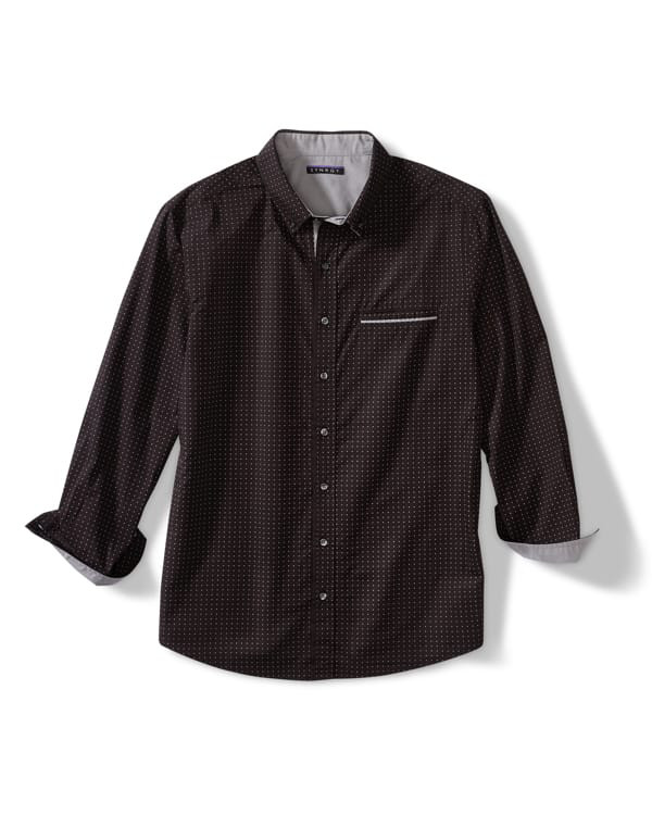 Synrgy Patterned Sport Shirt
