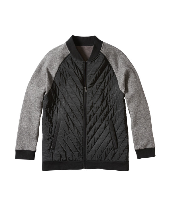 Twenty-Eight Degrees Quilted-Front Jacket