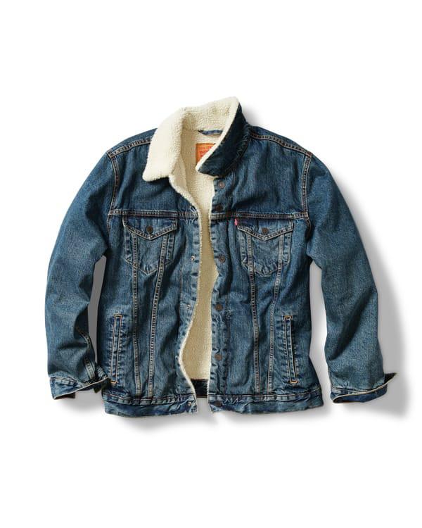 Levi's Sherpa-Lined Jacket