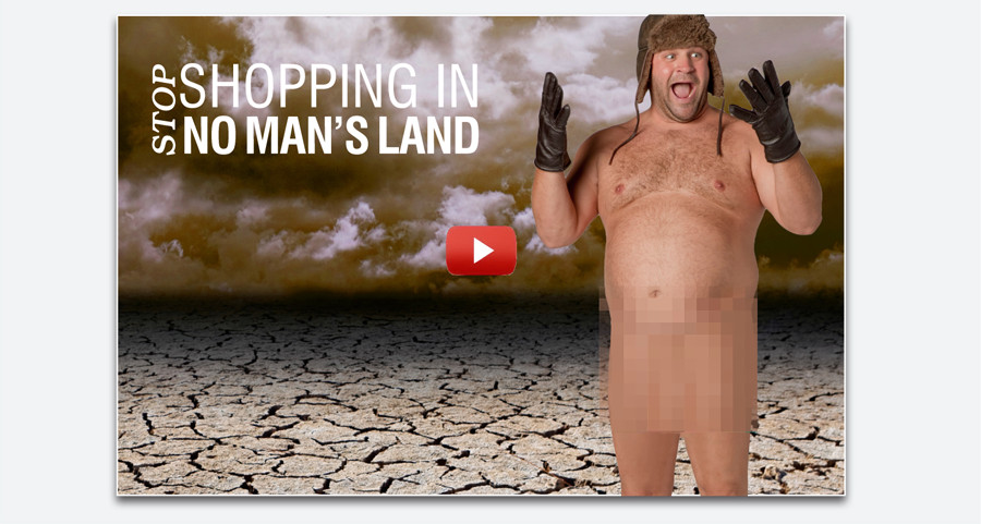 SHOP SHOPPING IN NO MAN'S LAND