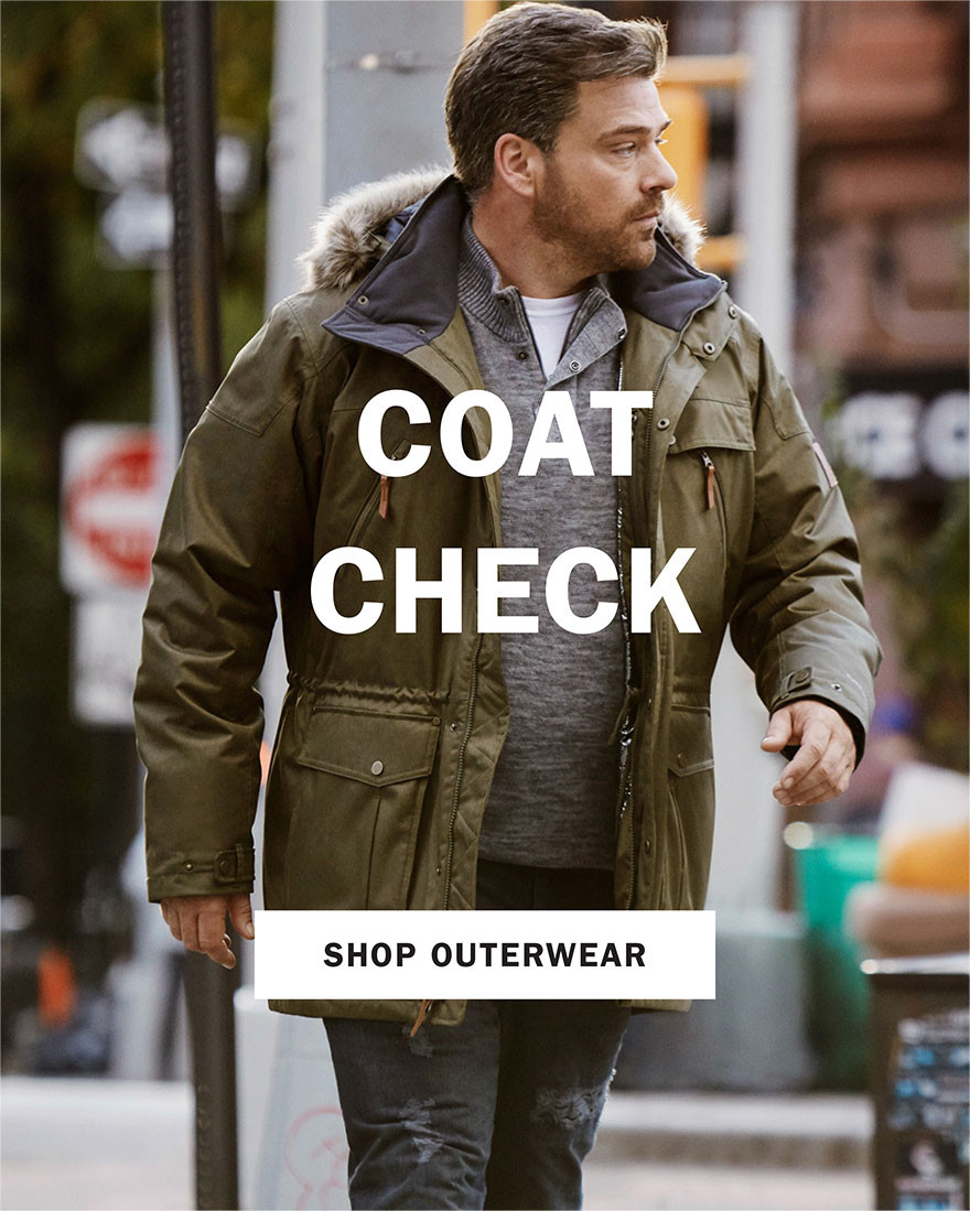 COAT CHECK | SHOP OUTERWEAR