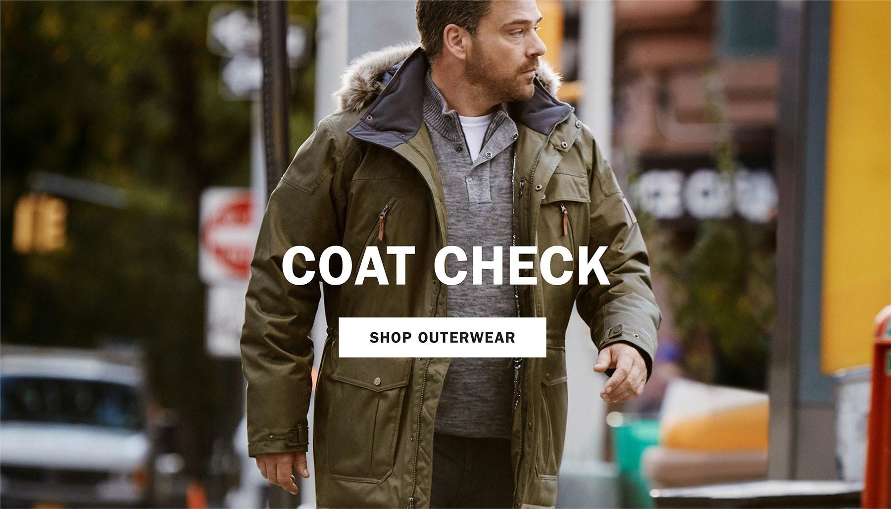 COAT CHECK | SHOP OUTERWEAR