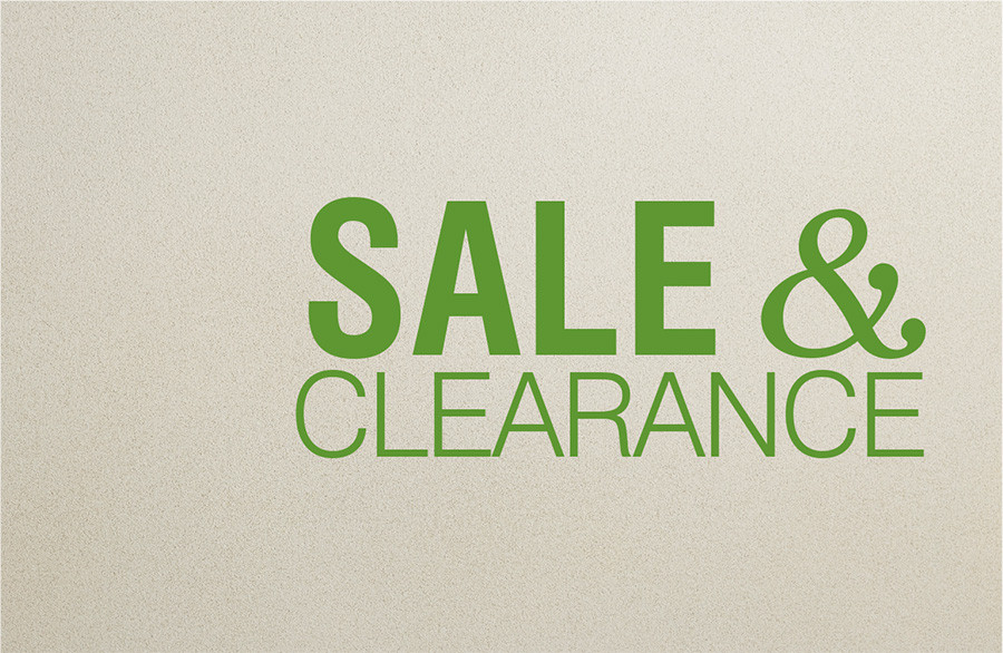 SALE & CLEARANCE
