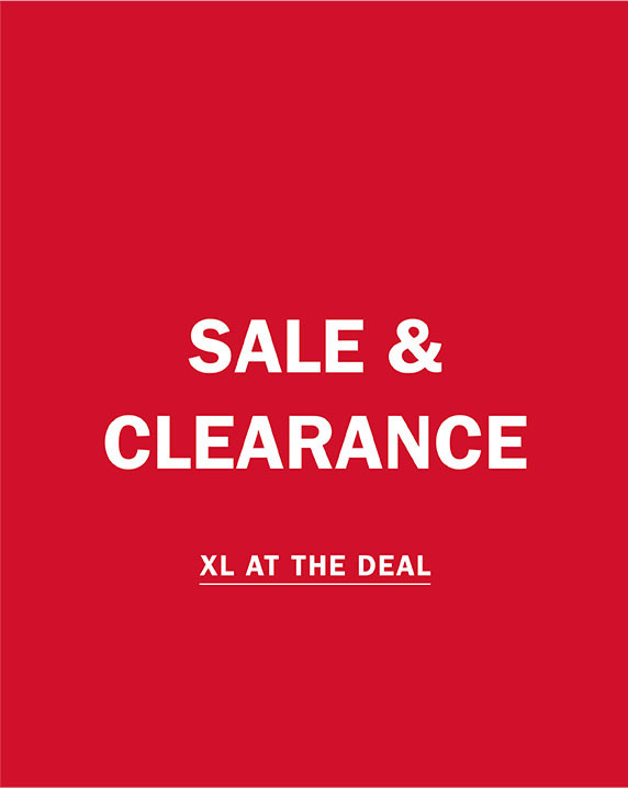 SALE AND CLEARANCE | XL AT THE DEAL