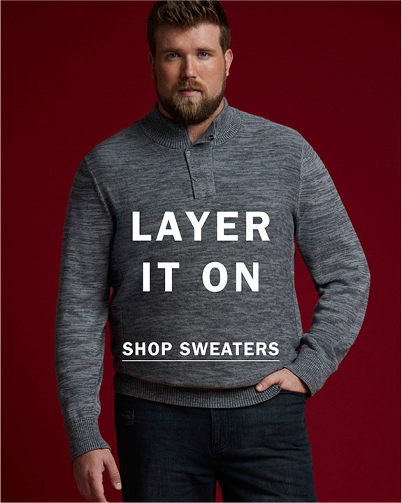 LAYER IT ON   SHOP SWEATERS