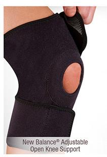 New Balance® Adjustable Open Knee Support