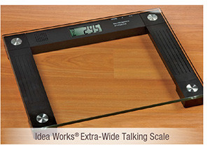 Idea Works® Extra-Wide Talking Scale