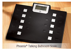 Phoenix® Talking Bathroom Scale