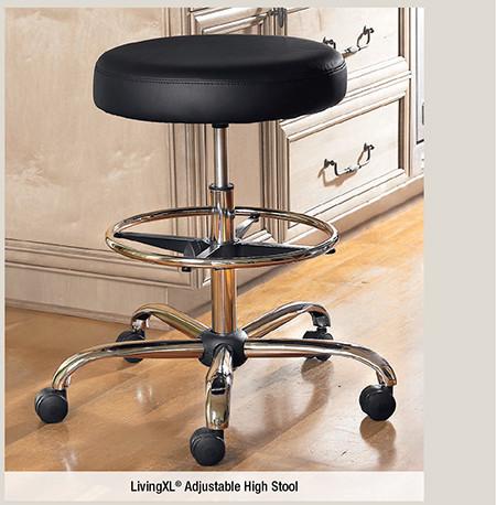 LivingXL® Adjustable High Stool