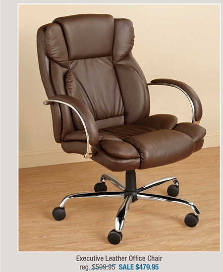 Executive Leather Office Chair