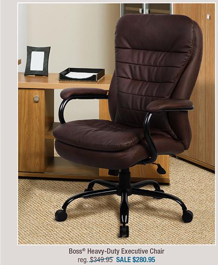 Boss® Heavy-Duty Executive Chair