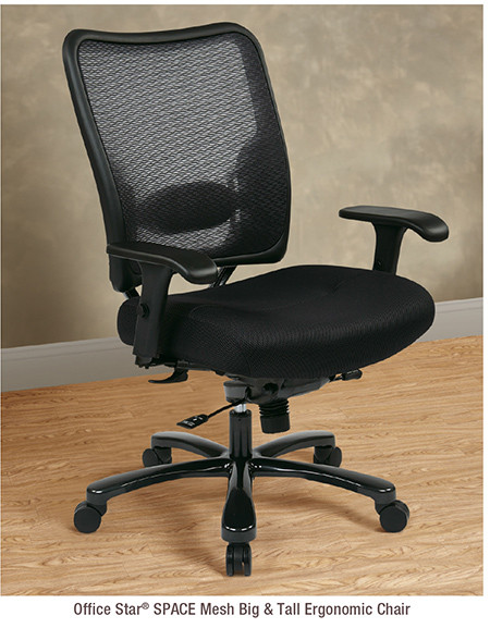 Office Star® SPACE Mesh Big & Tall Ergonomic Chair