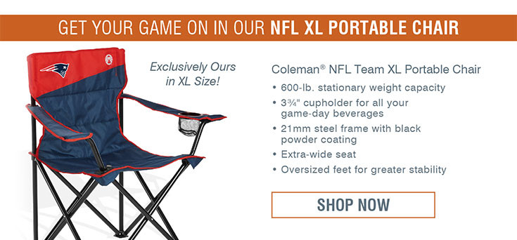 Coleman® NFL Team XL Portable Chair Patiorts
