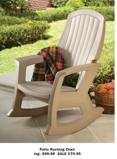 Patio Rocking Chair Reg. Part 55