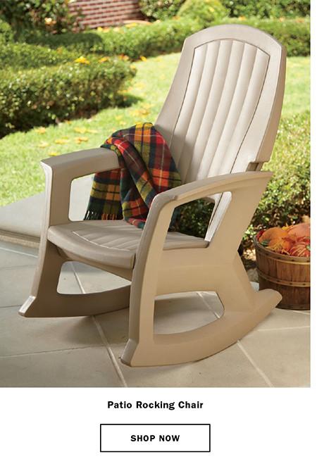 Patio Rocking Chair reg. $99.95 SALE $79.95
