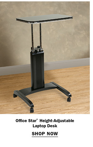 ffice Star® Height-Adjustable Laptop Desk
