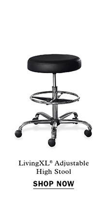 LivingXL® Adjustable High Stool Item #X2057