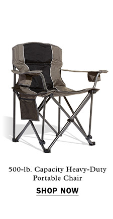 500-lb. Capacity Heavy-Duty Portable Chair Item #X2399