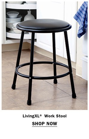 LivingXL® Work Stool Item #X1756