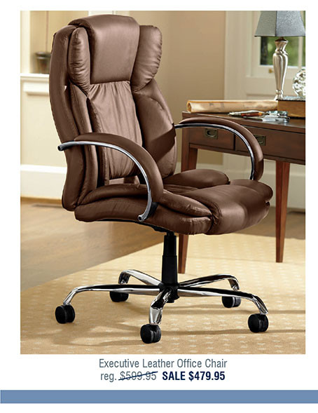 Executive Leather Office Chair X2071