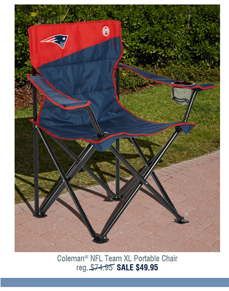 Coleman® NFL Team XL Portable Chair
