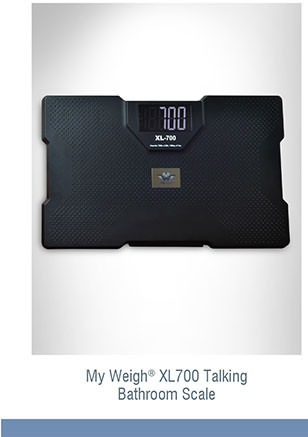 My Weigh® XL700 Talking Bathroom Scale X2503