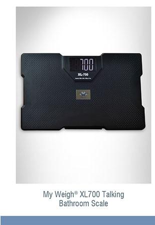 My Weigh® XL700 Talking Bathroom Scale