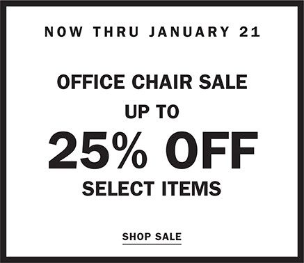 OFFICE CHAIR SALE UP TO 25% OFF SELECT ITEMS SHOP SALE