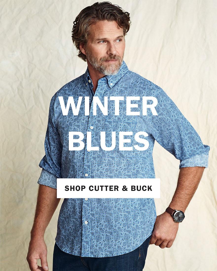 WINTER BLUES | SHOP CUTTER AND BUCK