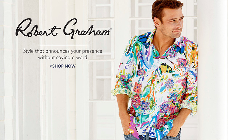 Robert Graham | Style that announces your presence without saying a word | SHOP NOW