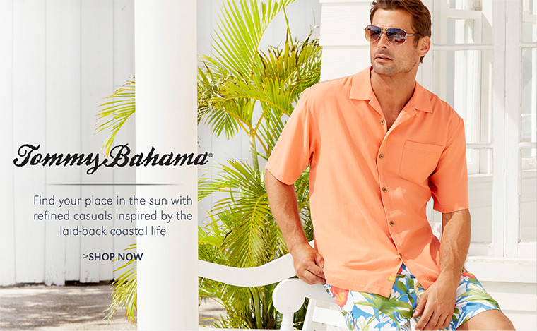 Tommy Bahama | Find your place in the sun with refined casuals inspired by the laid-back coastal life | SHOP NOW