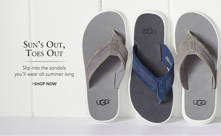 Sun's Out, Toes Out | Slip into the sandals you'll wear all summer long | SHOP NOW
