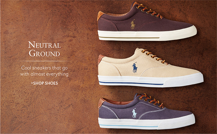 NEUTRAL GROUND | Cool sneakers that go with almost everything | SHOP SHOES