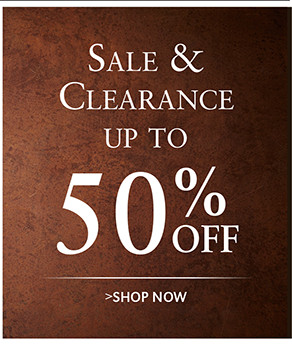 Sale & Clearance up to 50% OFF | SHOP NOW