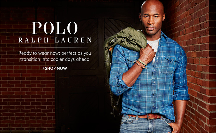Polo Ralph Lauren | Ready to wear now; perfect as you transition into cooler days ahead | SHOP NOW