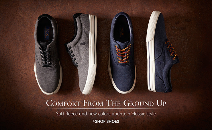 Comfort From The Ground Up | Soft fleece and new colors update a classic style | SHOP SHOES