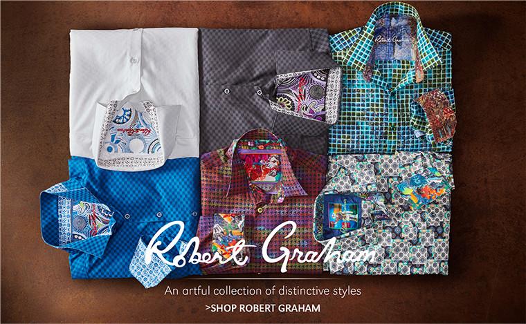 Robert Graham   An artful collection of distinctive styles   SHOP ROBERT GRAHAM