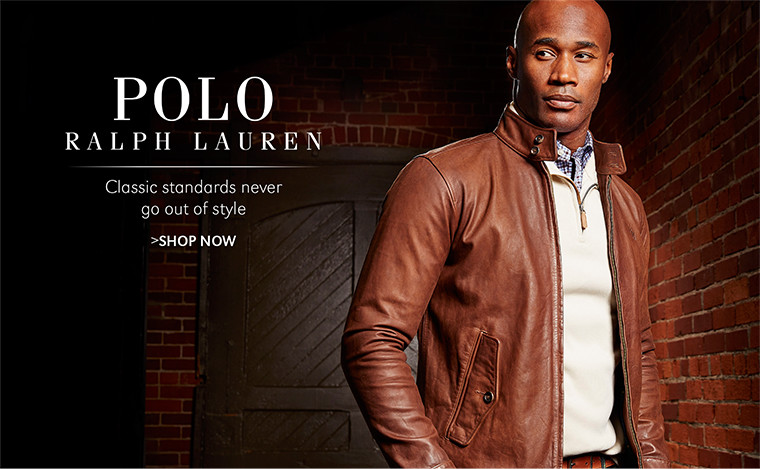 POLO RALPH LAUREN | Classic standards never go out of style | SHOP NOW
