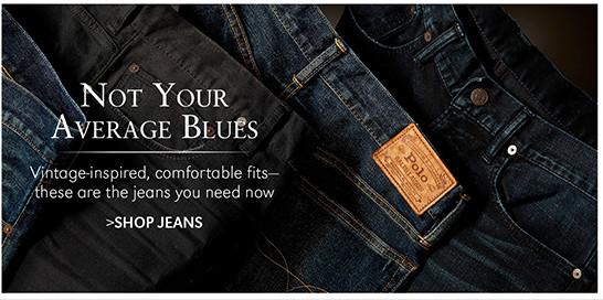 Not Your Average Blues | Vintage-inspired, comfortable fits—these are the jeans you need now | SHOP NOW