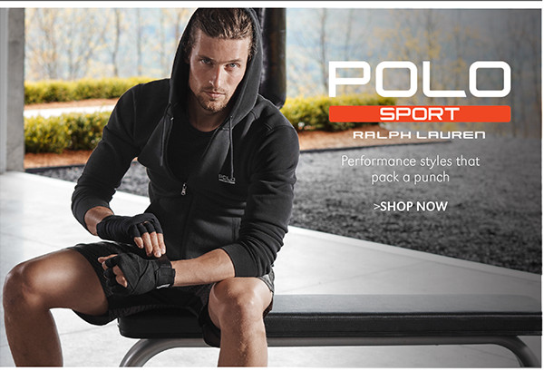 POLO SPORT | Performance styles that pack a punch | SHOP NOW