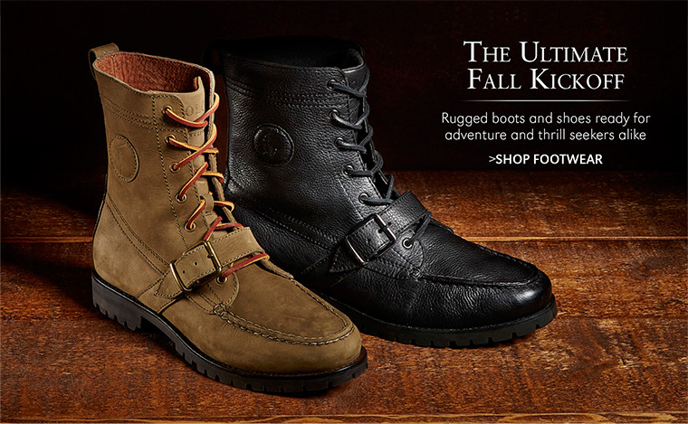The Ultimate Fall Kickoff | Rugged boots and shoes ready for adventure and thrill seekers alike | SHOP SHOES