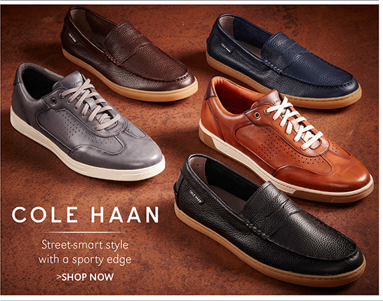 COLE HAAN   Street-smart style with a sporty edge   SHOP NOW