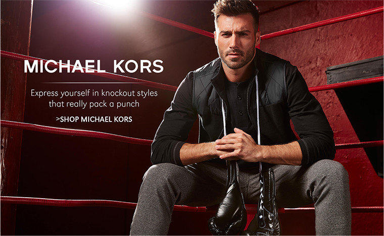 Michael Kors | Express yourself in knockout styles that really pack a punch | SHOP MICHAEL KORS