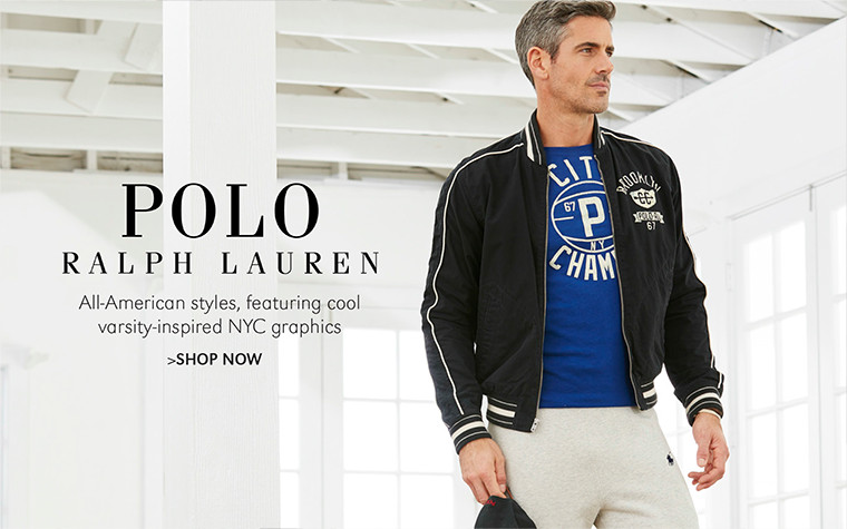 POLO RALPH LAUREN | All-American styles, featuring cool varsity-inspired NYC graphics | SHOP NOW
