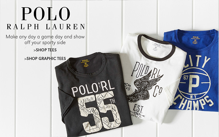 POLO RALPH LAUREN | Make any day a game day and show off your sporty side