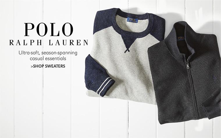 POLO RALPH LAUREN | Ultra-soft, season-spanning casual essentials | SHOP SWEATERS