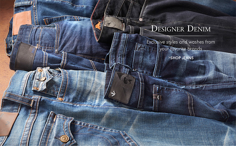 Designer Denim | Exclusive styles and washes from your favorite brands | SHOP JEANS