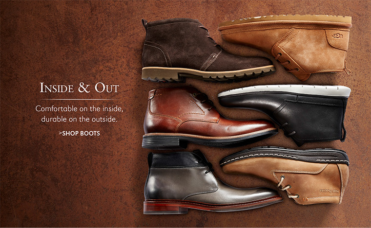Inside & Out | Comfortable on the inside, durable on the outside. | SHOP BOOTS